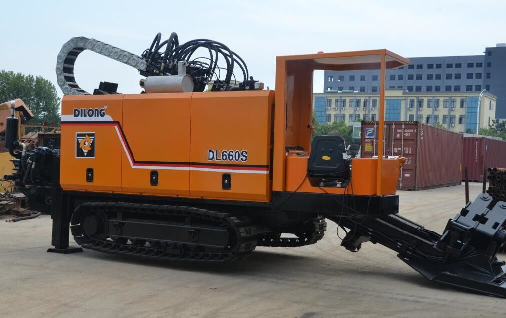 194Kw Engine Horizontal Directional Drilling Machine With Rotation Hydraulic System