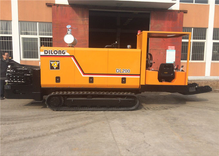 20T Trenchless Horizontal Directional Drilling Machine Underground Hdd Pipe Laying